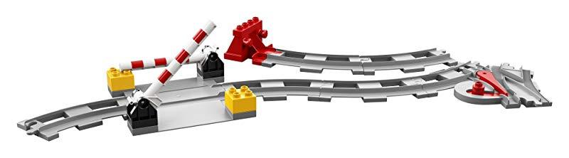 LEGO DUPLO Train Tracks 10882 Building Blocks (23 Piece) by LEGO ...