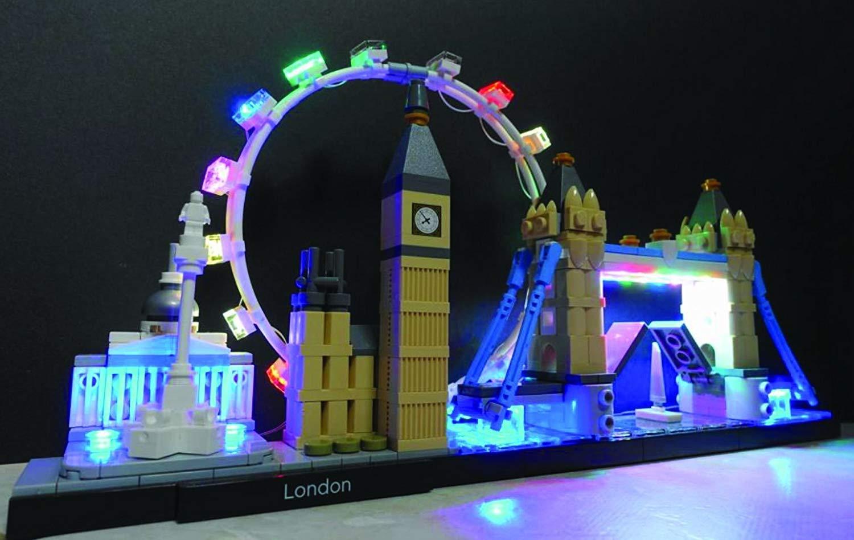 LED Building Block USB Light Parts Kit for LEGO London Skyline Collection 21034