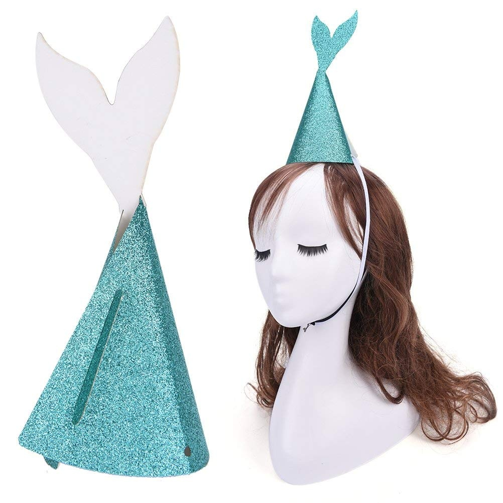 Maticr Mermaid Theme Party Decorations Set Under the Sea Party Favor for Girl Birthday Baby /& Bridal Shower