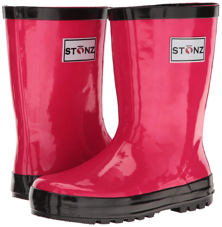 Toddler//Little Kid//Big Kid Stonz Natural Rubber Rain Boot