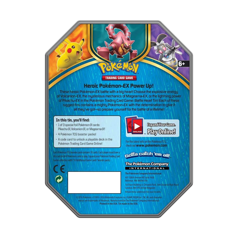 Battle Heart Tin Magearna EX Unused Pokemon Online Booster Codes Sent Fast