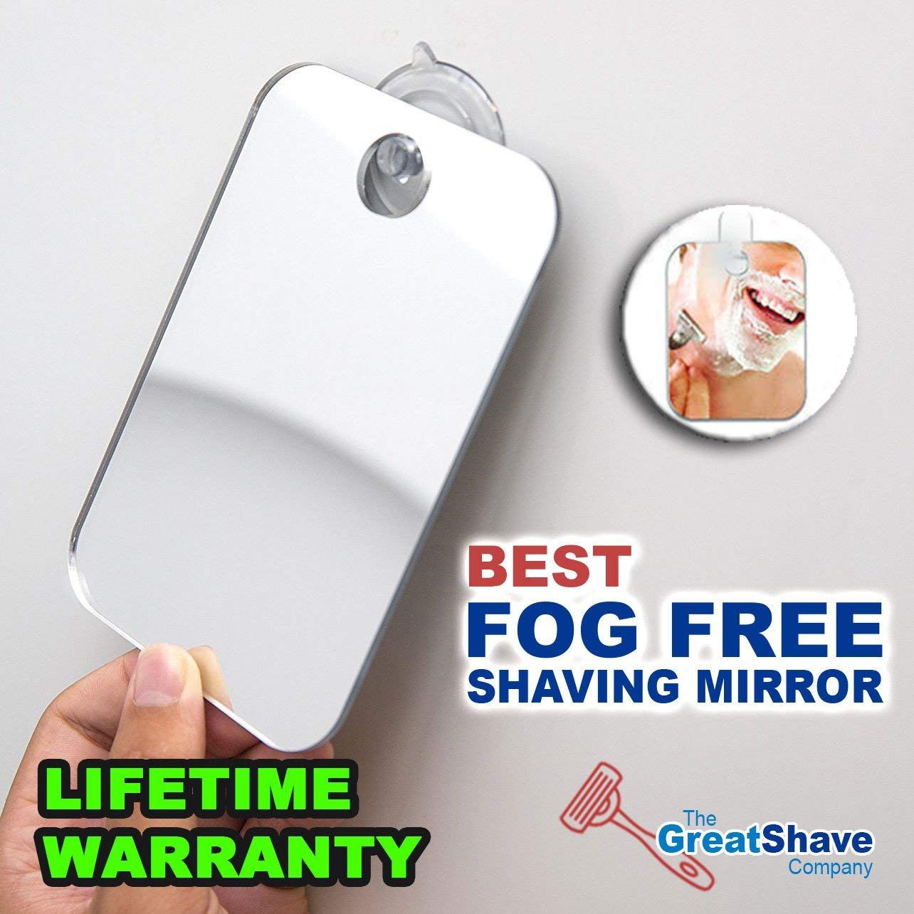 Unbreakable Locker Mirror The Shave Well Company