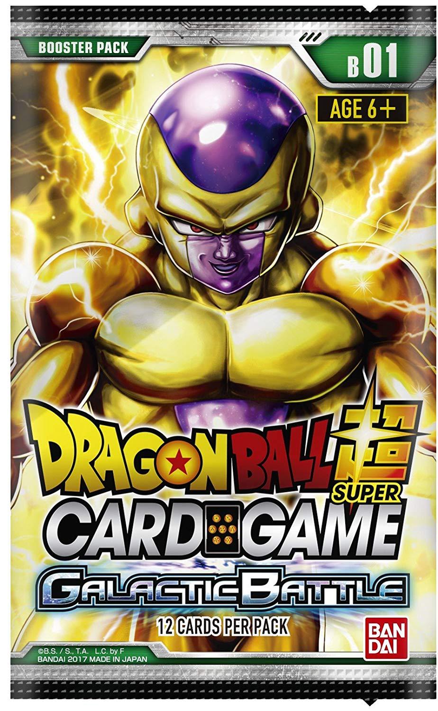 Dragon Ball Z Super Galactic Battle TCG Booster Display Box English