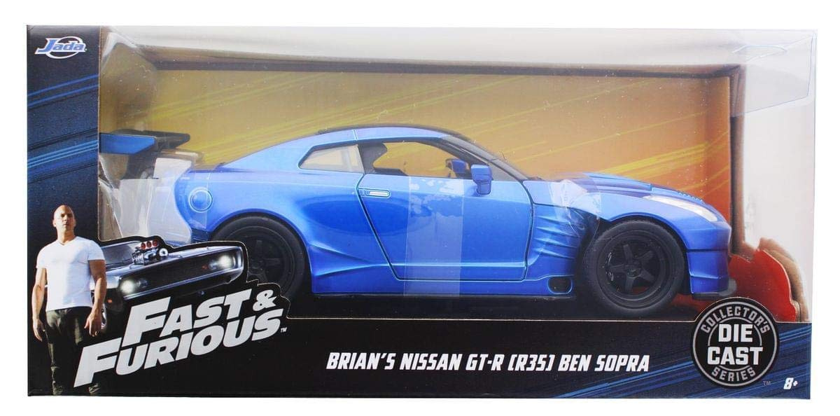 Ben Sopra Fast and the Furious 1:24 Jada Toys 98271 2009 Nissan GT-R R35