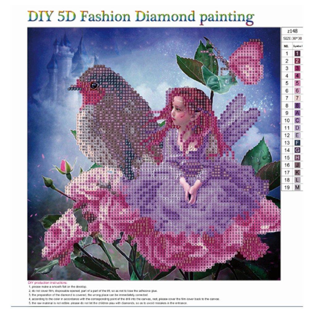 5D DIY Diamond Painting Embroidery,Lisin Flowers 5D DIY Diamond ...