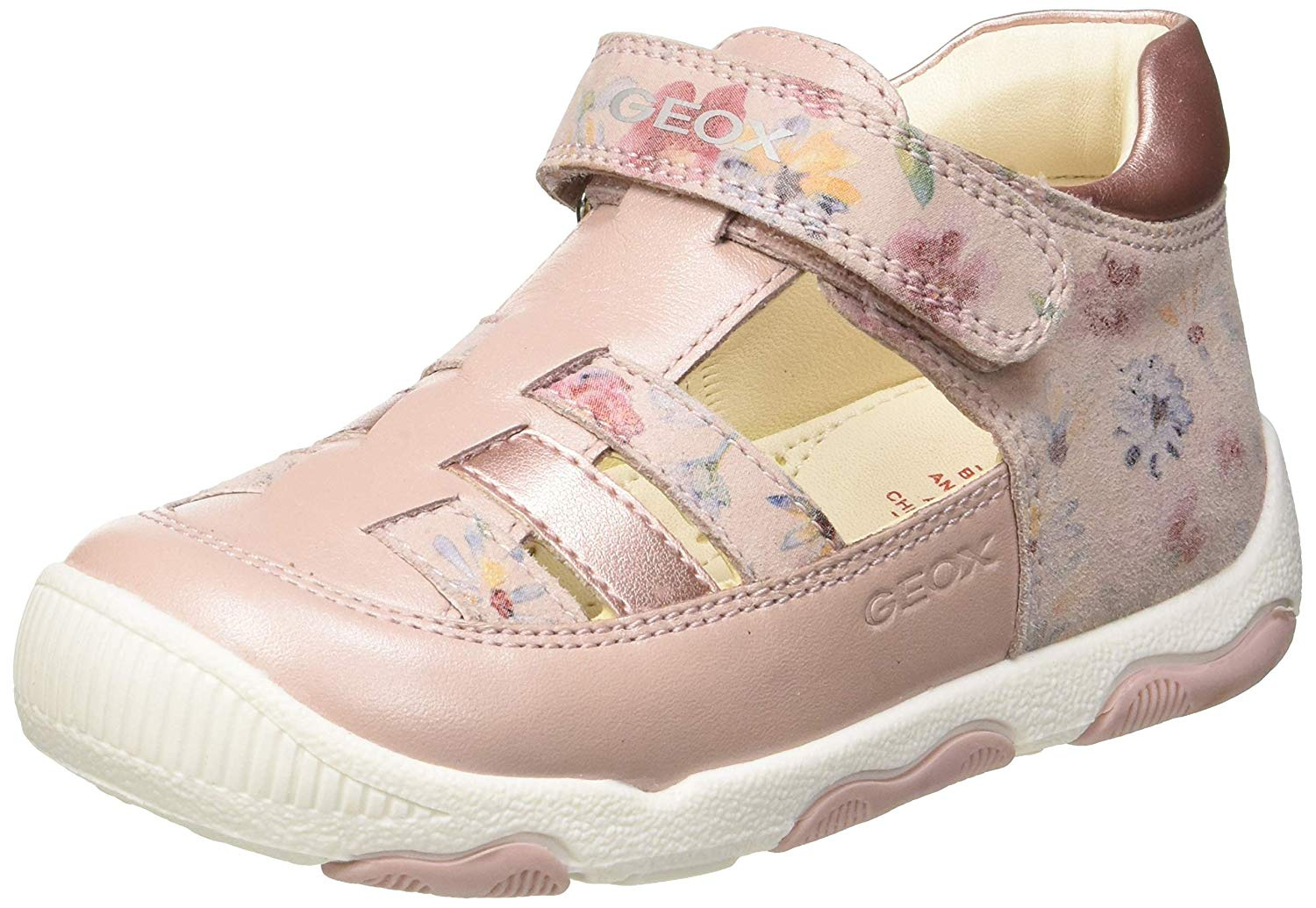 sunnymi For 0-3 Years Old Kids Newborn Infant Toddler Baby Girls Fabric Sneaker Soft Sole Sandals Crib Princess Anti-Slip Cute Shoes 0-6 Months, Pink