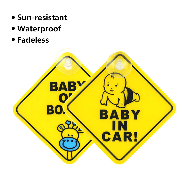 Landing Designs GRANDCHILD ON BOARD CHILD SAFETY VINYL CAR SIGN
