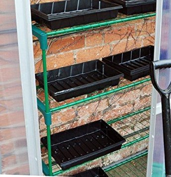 Kingfisher 4 Shelf Greenhouse Staging