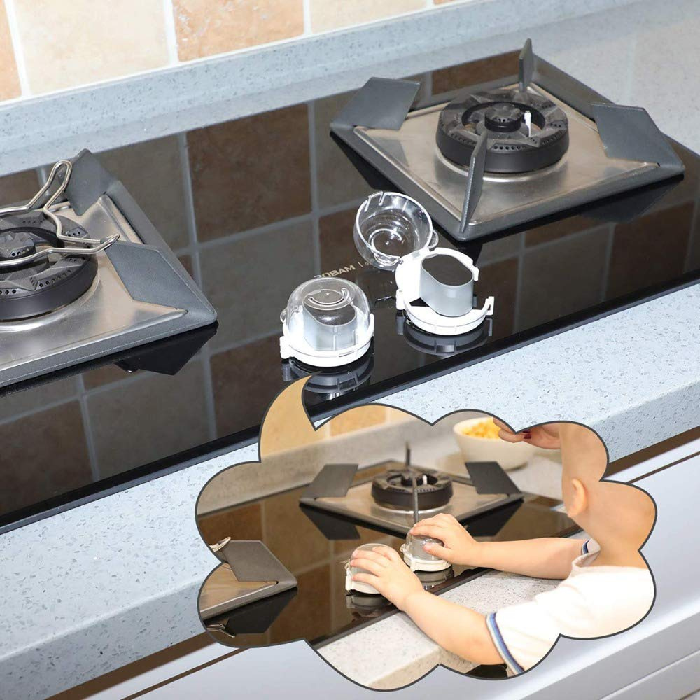 Coasters - 9cm Set of 4 Mirrored Glass Coasters 36011