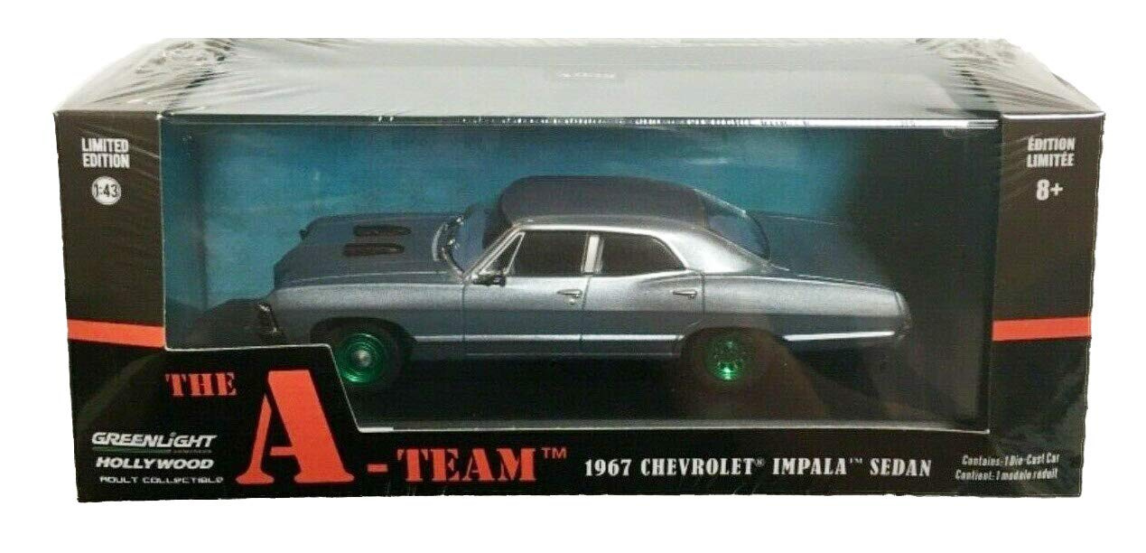 Greenlight 1967 Chevrolet Impala with Figures Supernatural 1:64 Diecast 51206