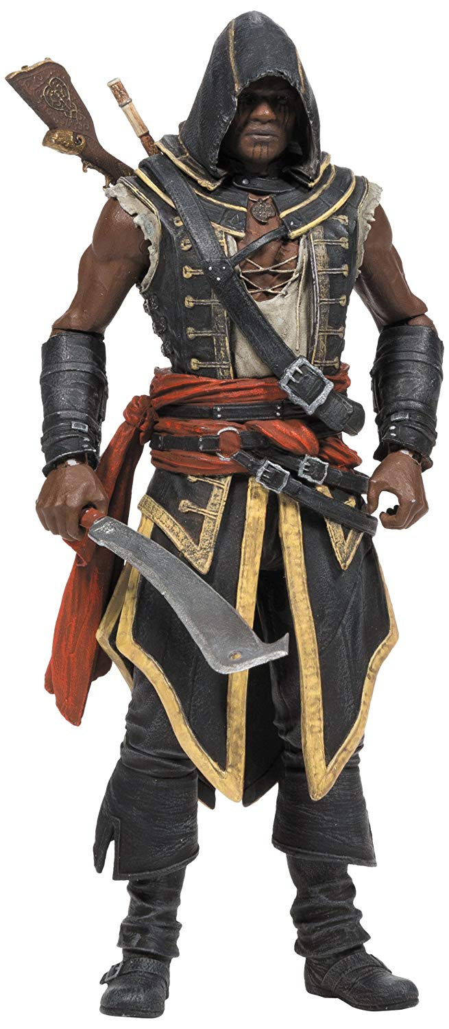 Assassin S Creed Toy Collectable Series 2 Adewale Deluxe Action Figure By Mcfarlane Shop Online For Toys In New Zealand