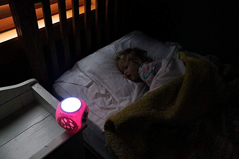 CalmKnight Star Projector Sound Machine with Cry Detect Baby White Noise Soother Night Light for Kids New Version