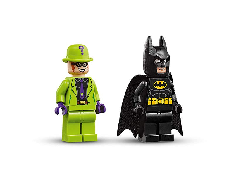 LEGO 76137 4+ DC Batman Batman VS The Riddler Robbery Batmobile ...