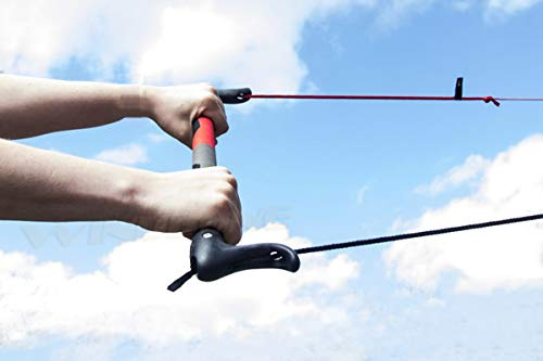 Peter Lynn 2-Line Kite Control Bar Accessory Without Kite Killer Bar Only, No Leash