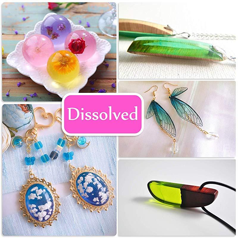 Pink 1pcs qsbai Resin Pigment Epoxy UV Resin Dye Colorant Mix Color DIY Craft Tools 10 Colors