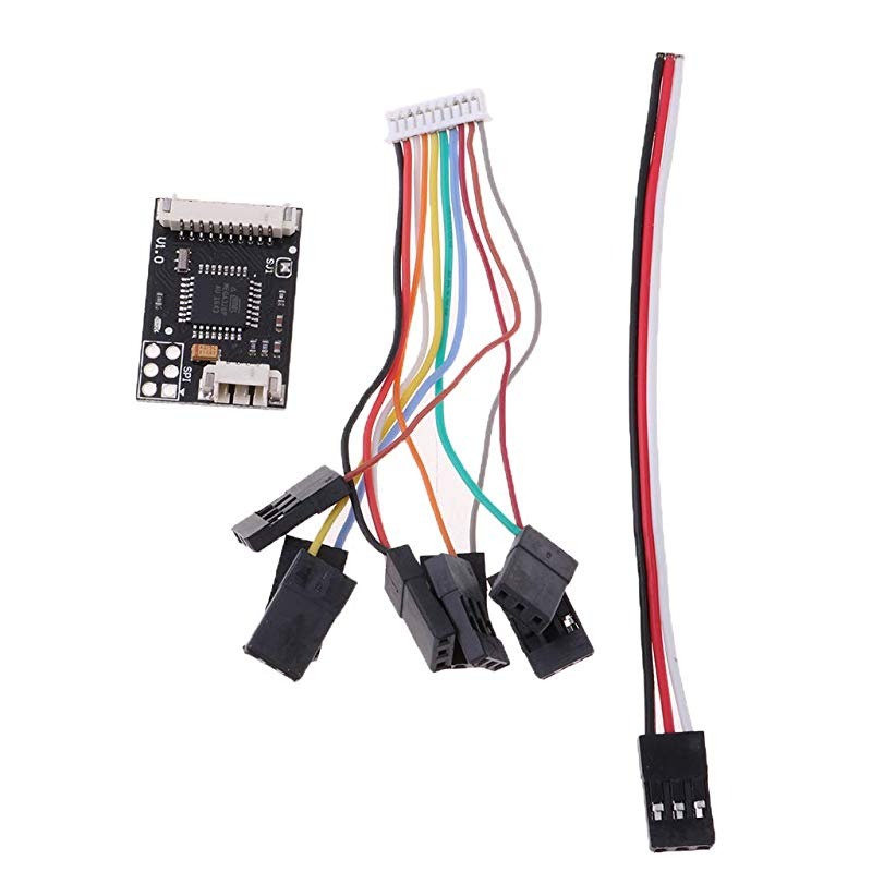 TrifyCore I2C Splitter Expand Module with Cable For Pixhawk APM Flight Controller RC Aircraft Component