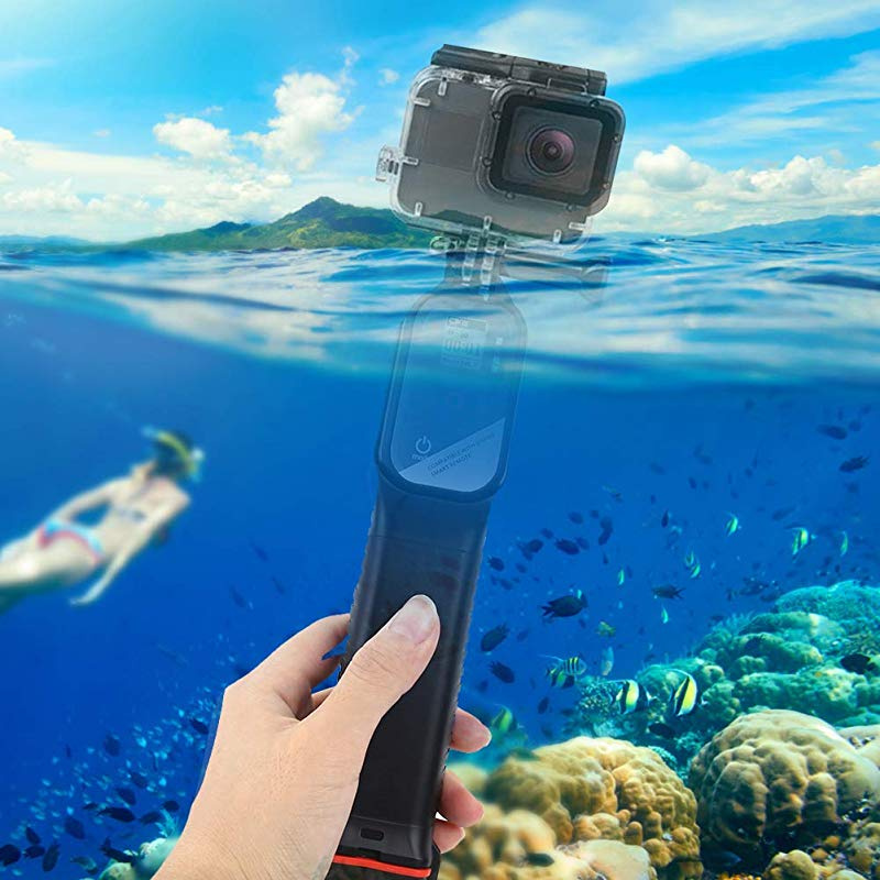 Taidda Floating Hand Grip Monopod #4 Portable Sturdy Anti-Slip Floating Bobber Stick Floaty Hand Grip Monopod Camera Diving Accessory for Action Cameras