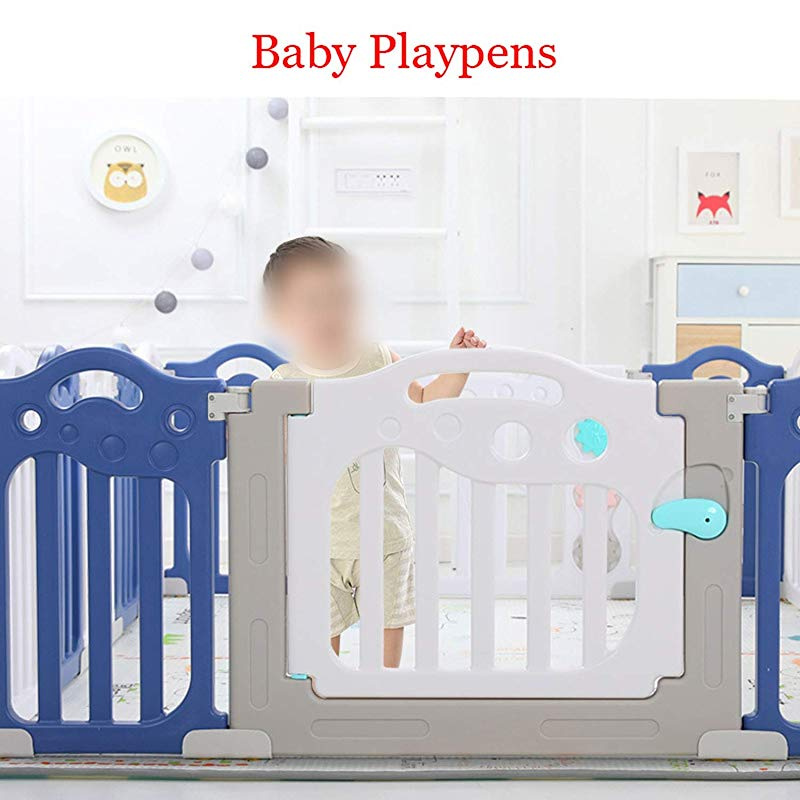 Grey Sienna Play Pen Nursery Playpens Baby Toddler Play Activity Centre Circo Safety