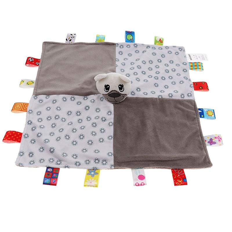 Fox CUTICATE Baby Kids Boys Girls Colorful Security Blanket Cloth Comforter