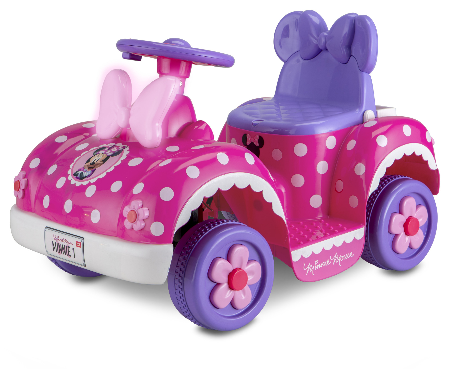 Disney S Minnie Mouse Toddler Quad 6 Volt Ride On Toy By Kid Trax By Kid Trax Disney Minnie Friends Minnie Happy Helpers Shop Online For Toys In New Zealand