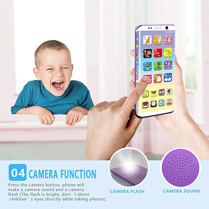 Zahuoo Smart Phone Phone Baby Phone Smartphone Toy for Toddlers