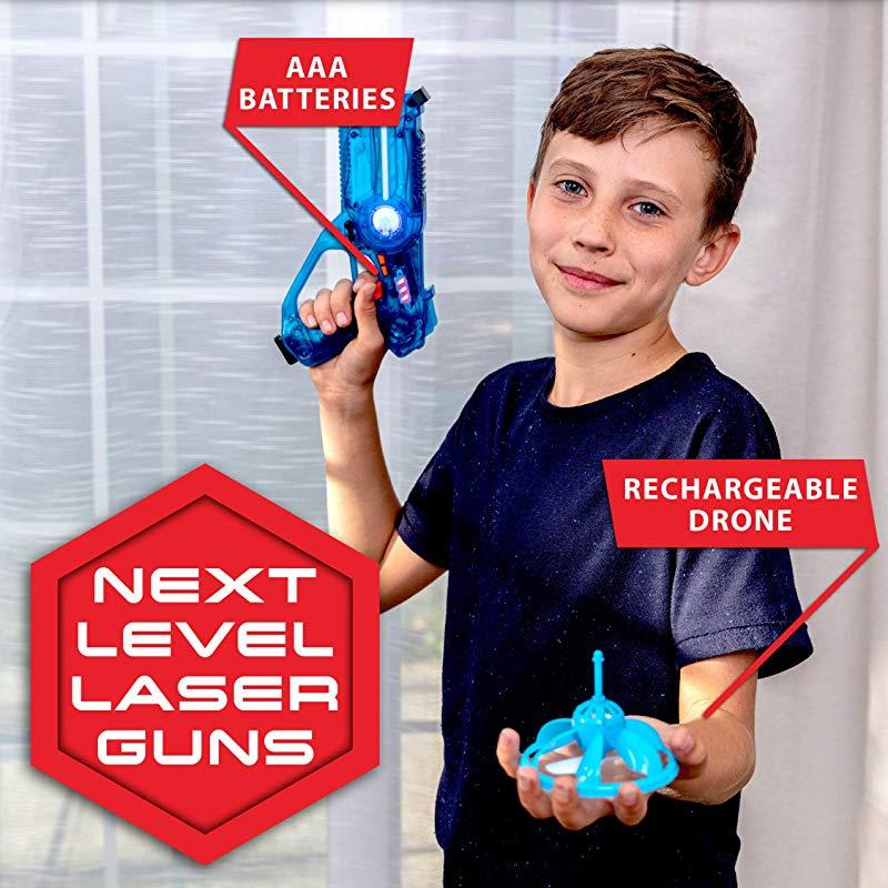 Laser Launchers Laser Tag Gun Set Lazer Tag 2 Player Shooting Games 2 Toy